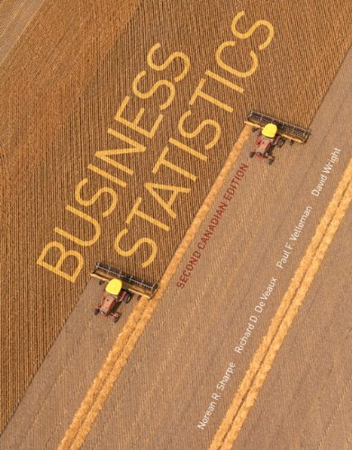 9780321781833: Business Statistics, Second Canadian Edition