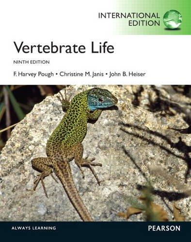 9780321782359: Vertebrate Life