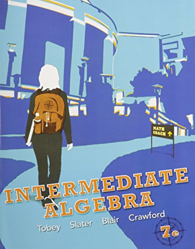 9780321782373: Intermediate Algebra, MyMathLab, and Student Solutions Manual (7th Edition)