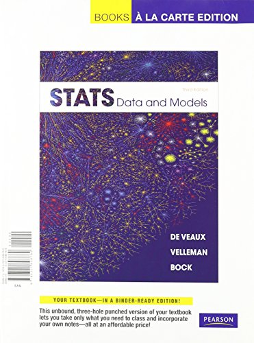 9780321782700: Stats: Data and Models, Books a la Carte Plus MSL -- Access Card Package (3rd Edition)