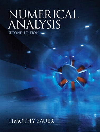 9780321783677: Numerical Analysis