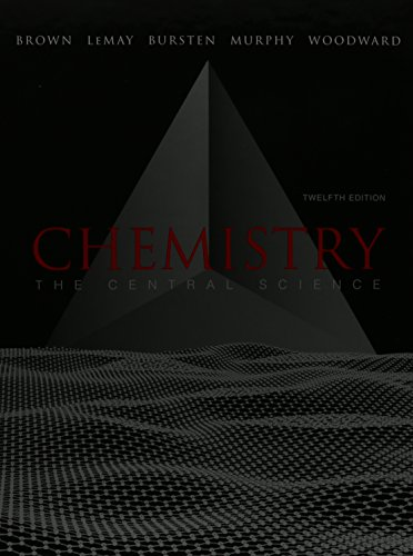 9780321784179: Chemistry: The Central Science and Solutions to Exercises (12th Edition)
