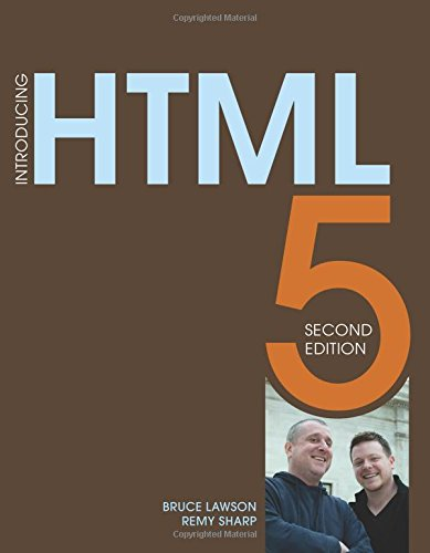 Introducing HTML5 (2nd Edition) (Voices That Matter): Lawson, Bruce; Sharp,