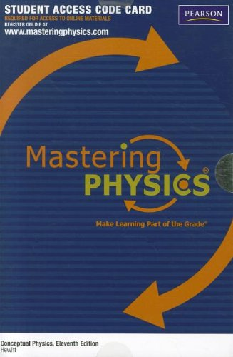 9780321784445: MasteringPhysics without Pearson eText -- Standalone Access Card -- for Conceptual Physics (Mastering Physics (Access Codes))