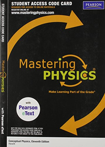 MasteringPhysics with Pearson Etext -- Valuepack Access: Hewitt, Paul G.