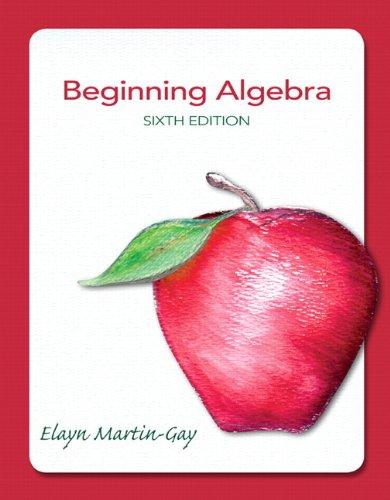 9780321784919: Beginning Algebra (6th Edition)