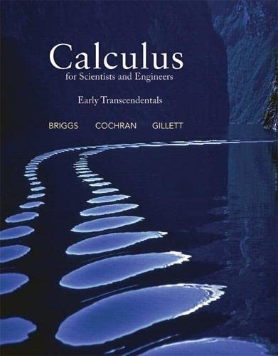 9780321785374: Calculus for Scientists and Engineers: Early Transcendentals
