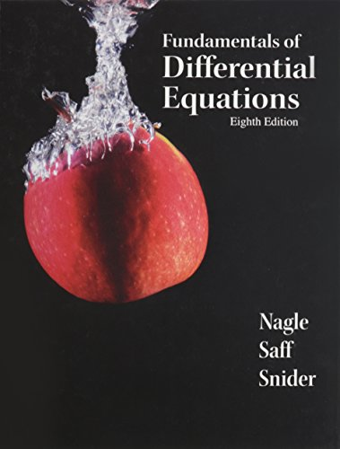 9780321786340: Fundamentals of Differential Equations plus Student Solutions Manual -- Package (8th Edition)