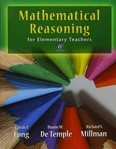 9780321786395: Mathematical Reasoning for Elementary School Teachers with Activities (6th Edition)