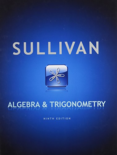 9780321786463: Algebra and Trigonometry, MyMathLab, and Student Solutions Manual (9th Edition)