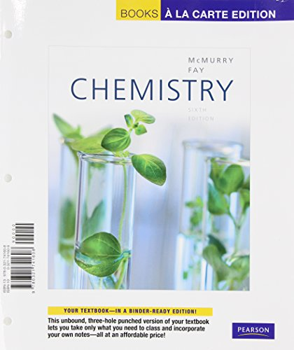 9780321787576: Chemistry, Books a la Carte Plus MasteringChemistry -- Access Card Package (6th Edition)