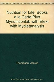 9780321787804: Nutrition for Life, Books a la Carte Plus MyNutritionLab with eText with MyDietAnalysis (3rd Edition)