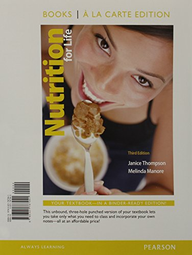 9780321787941: Nutrition for Life, Books a la Carte Edition (3rd Edition)