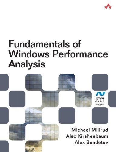 9780321787965: Fundamentals of Windows Performance Analysis (Microsoft .Net Development)