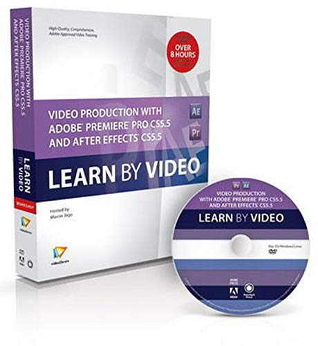 9780321788092: Video Production with Adobe Premiere Pro CS5.5 and After Effects CC5.5: Learn by Video