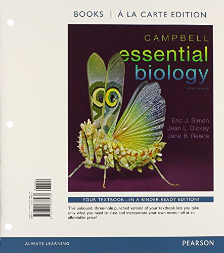 9780321788245: Campbell Essential Biology, Books a la Carte Plus MasteringBiology with eText -- Access Card Package (5th Edition)