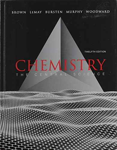 9780321788825: Chemistry: The Central Science with MasteringChemistry with Solutions to Red Exercises (12th Edition)