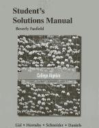 9780321791382: Student's Solutions Manual for College Algebra
