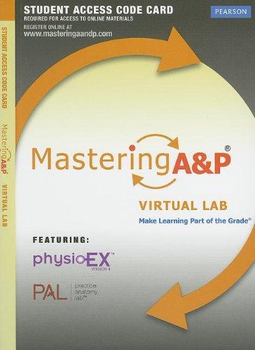 MasteringA&P? Virtual Lab -- Standalone Access Card: Ruth Heisler; Nora