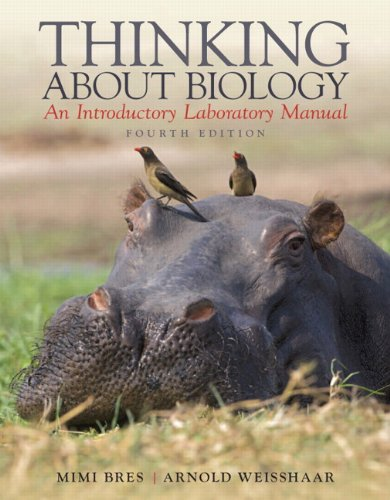 9780321791955: Thinking About Biology: An Introductory Laboratory Manual (4th Edition)