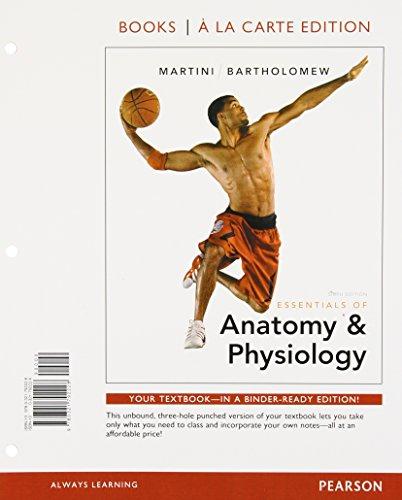 9780321792228: Essentials of Anatomy & Physiology, Books a la Carte Edition (6th Edition)