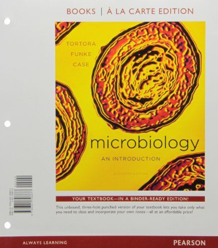 9780321793119: Microbiology: An Introduction, Books a la Carte Plus MasteringMicrobiology with eText -- Access Card Package (11th Edition)
