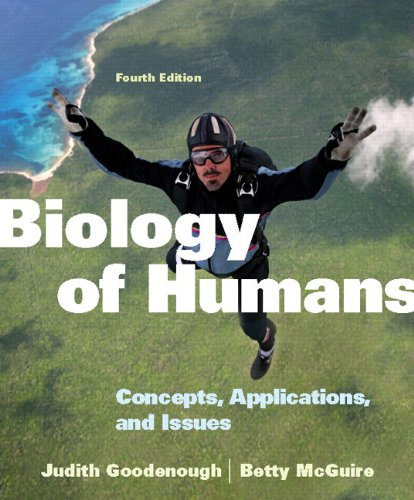 9780321794253: Biology of Humans: Concepts, Applications, and Issues Plus MasteringBiology with eText -- Access Card Package (4th Edition)