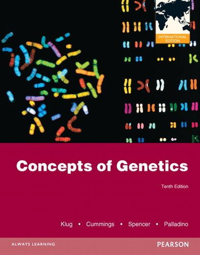 9780321795779: Concepts of Genetics (International Edition)