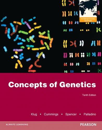 9780321795779: Concepts of Genetics.