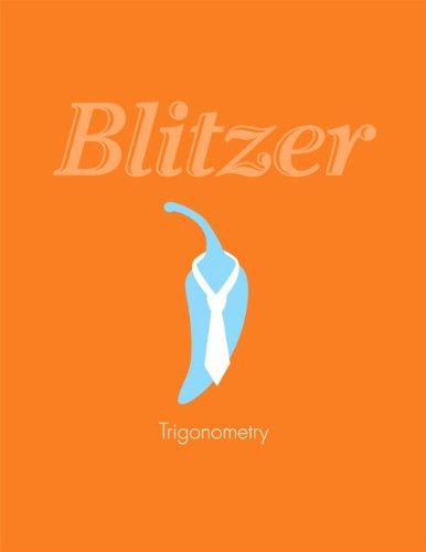 Trigonometry: Blitzer, Robert F.