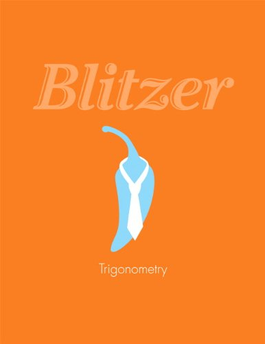 Trigonometry: Robert F. Blitzer
