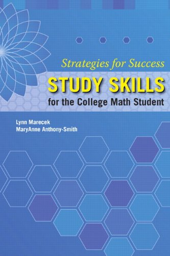 9780321796387: Strategies For Success: Study Skills for the College Math Student