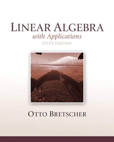 9780321796974: Linear Algebra with Applications, 5th Edition
