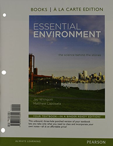 9780321802736: Essential Environment: The Science behind the Stories, Books a la Carte Plus MasteringEnvironmentalScience with eText -- Access Card Package (4th Edition)