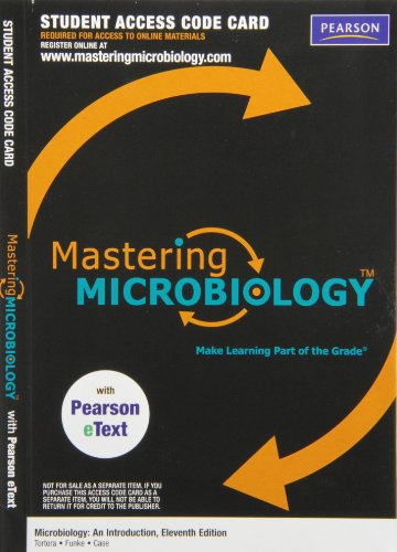 9780321803009: MasteringMicrobiology with Pearson eText -- ValuePack Access Card -- for Microbiology: An Introduction (ME component)