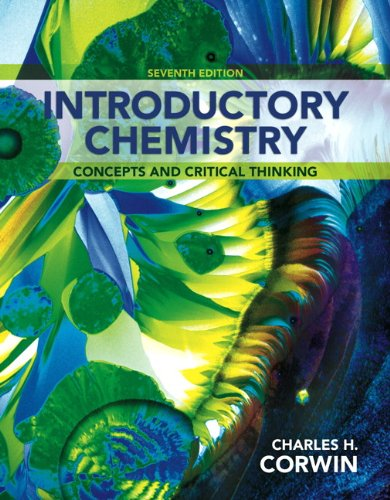 9780321803214: Introductory Chemistry: Concepts and Critical Thinking Plus MasteringChemistry with eText -- Access Card Package (7th Edition)