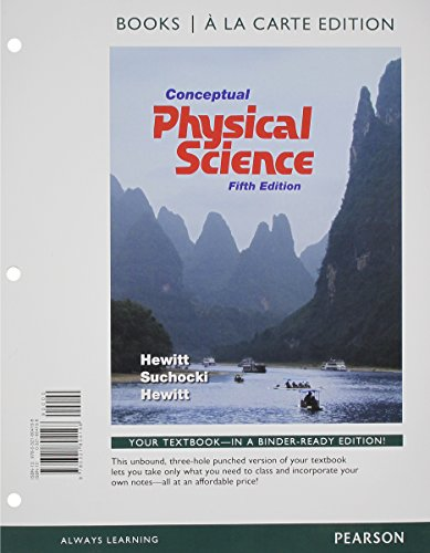 9780321804181: Conceptual Physical Science, Books a la Carte Plus MasteringPhysics with eText -- Access Card Package (5th Edition)