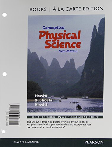 9780321804198: Conceptual Physical Science, Books a la Carte Edition (5th Edition)