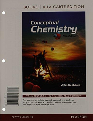 9780321804471: Conceptual Chemistry, Books a la Carte Edition (5th Edition)