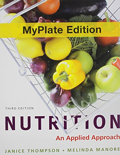 9780321807014: Nutrition MyPlate Edition plus New MyNutritionLab with MyDietAnalysis with Pearson eText and Access Code