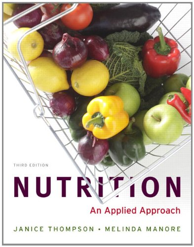 9780321807724: Nutrition: An Applied Approach with 2010 Dietary Guidelines, DRIs and MyPlate Update Study Card (3rd Edition)