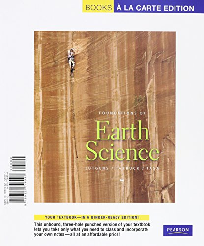 9780321808653: Foundations of Earth Science, Books a la Carte Plus MasteringGeology with eText -- Access Card Package (6th Edition)