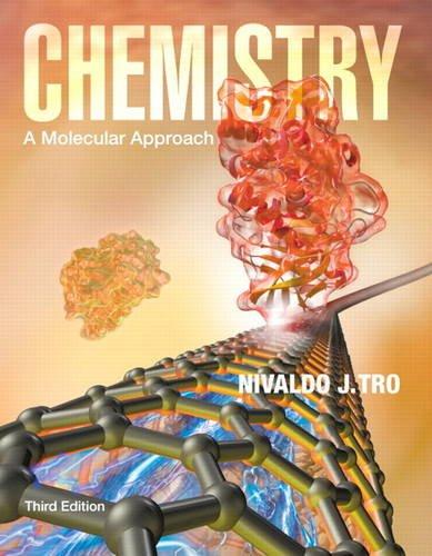 Chemistry: A Molecular Approach (3rd Edition) [Hardcover]: Nivaldo J. Tro