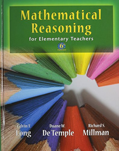 Mathematical Reasoning for Elementary School Teachers Plus IMAP CD-ROM: Integrating Mathematics and...