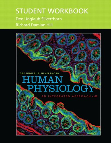 Student Workbook for Human Physiology : An: Dee Unglaub Silverthorn;