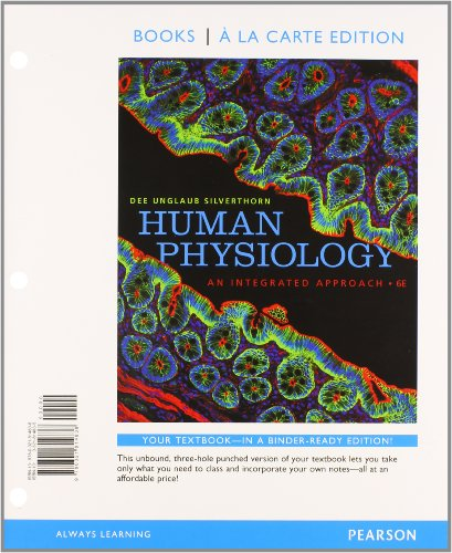 9780321810847: Human Physiology: An Integrated Approach, Books a la Carte Plus MasteringA&P with eText -- Access Card Package (6th Edition)