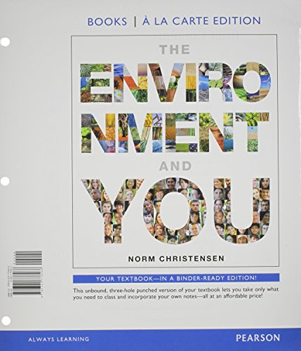 Environment and You, The, Books MasteringEnvironmentalScience --