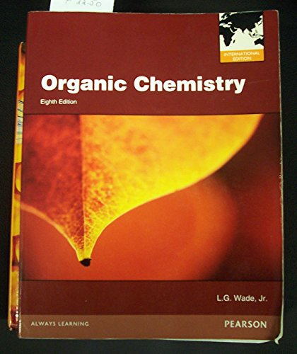 9780321811394: Organic Chemistry By L.g. Wade, Jr.