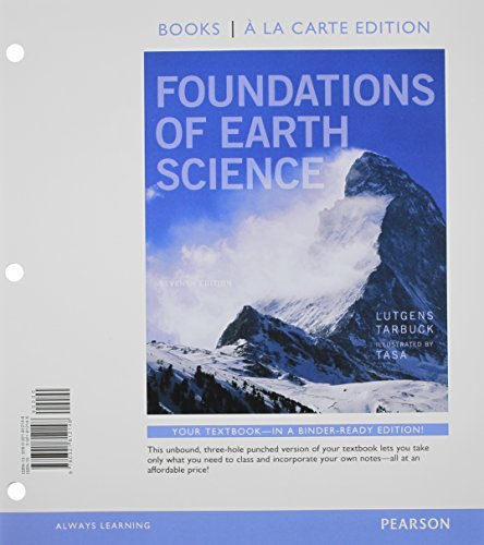 9780321812469: Foundations of Earth Science, Books a la Carte Plus MasteringGeology with eText -- Access Card Package (7th Edition)