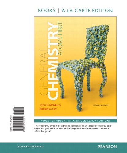 9780321813039: General Chemistry: Atoms First, Books a la Carte Edition